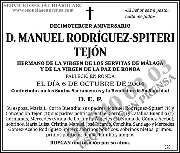 Manuel Rodríguez-Spiteri Tejón